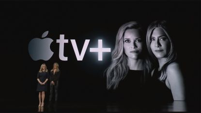 Apple opent jacht op Netflix met Apple TV+