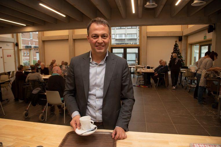 OCMW voorzitter Egbert Lachaert wordt eerste schepen in Merelbeke.