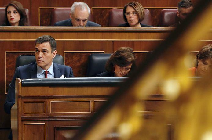 Spaans premier Pedro Sánchez diende vorige maand het ontslag van zijn regering in, nadat hij de gedoogsteun van de Catalaanse partijen was kwijtgeraakt. Nieuwe verkiezingen volgen op 28 april.
