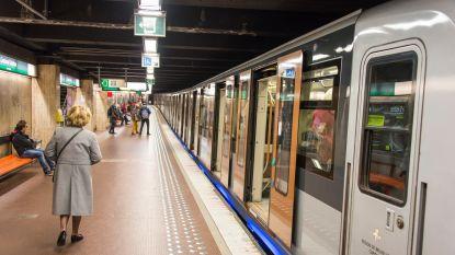 Metroverkeer op lijn 5 onderbroken dit weekend