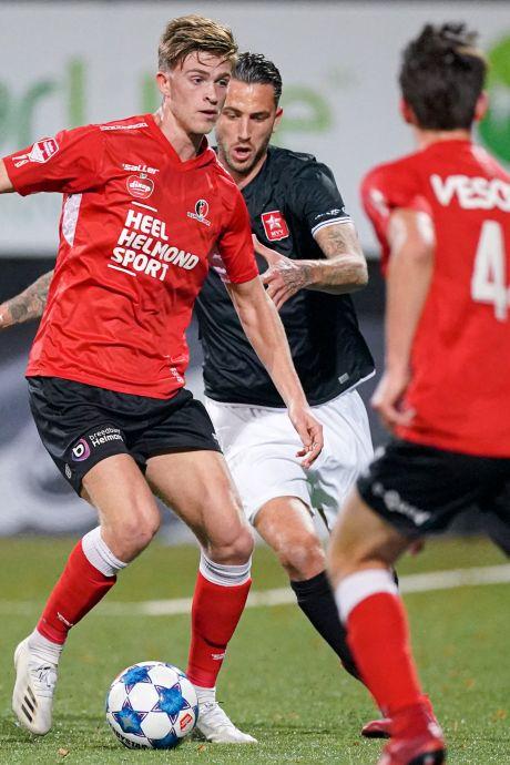 'Thuisvloek' van Helmond Sport duurt voort met remise tegen MVV na laat doelpunt zoon Van Bommel