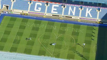 De Ronde: KRC Genk toont warme boodschap in Luminus Arena