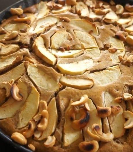 Deze gezonde appeltaart van de Healthy Sisters is perfect voor de donkere dagen