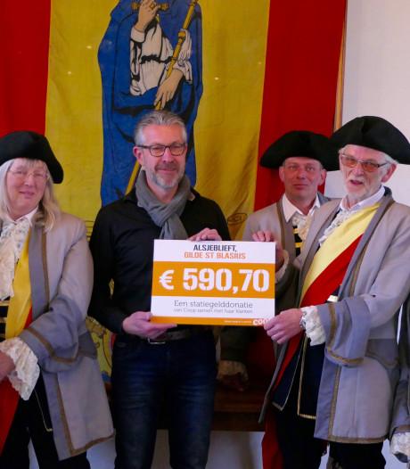 Blasiusgilde Heusden verrast met sponsorbijdrage