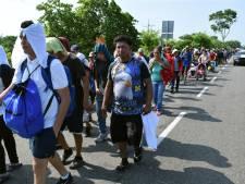 Mexico versterkt zuidelijke grens na 'inval' van migranten