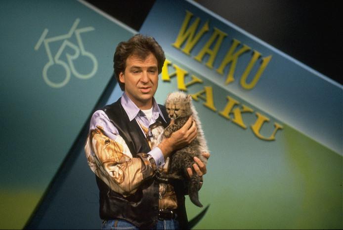 Rob Fruithof presenteerde van 1988 tot 1996 de dieren- en natuurquiz Waku Waku.