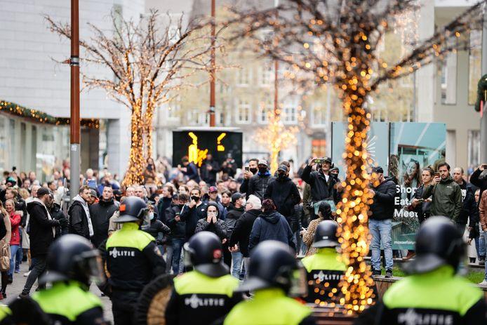 De protesten tegen Zwarte Piet in Maastricht