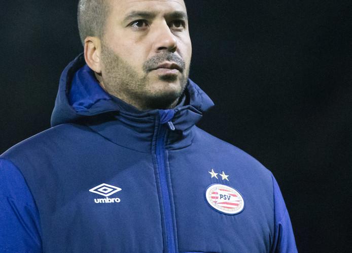Jong PSV-coach Pascal Jansen