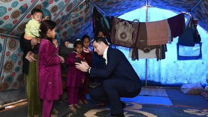 """Alexander De Croo bezoekt als eerste Europese minister bevrijd IS-gebied in Irak: """"We móeten die mensen helpen. Uit eigenbelang"""""""