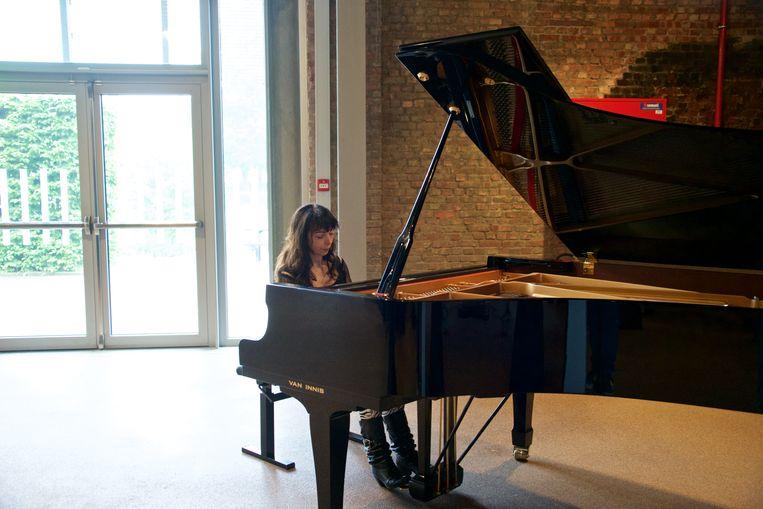 Pianiste Eliane Rodrigues.