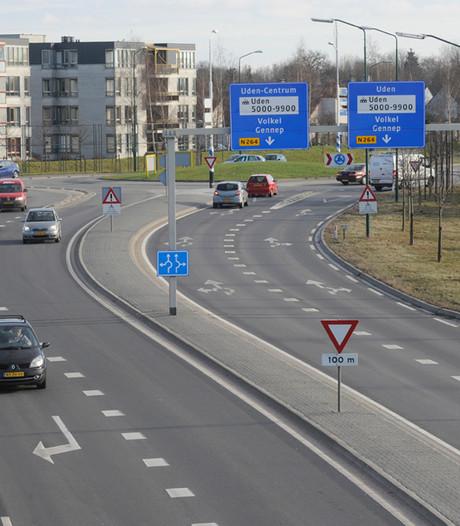 Cijfers over verkeer op N264 bij Uden worden opnieuw bekeken