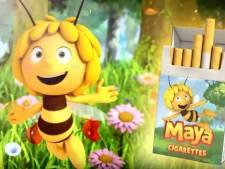 Greenpeace valt Studio 100 aan met Maya De Bij-sigaretten