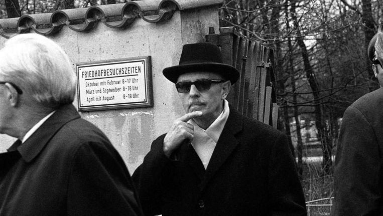 Spionnenbaas Reinhard Gehlen, in 1972. Beeld AP