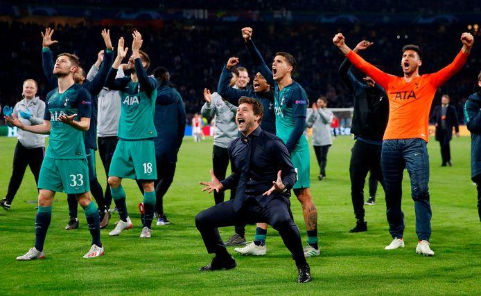 Mauricio Pochettino in betere tijden, na het bereiken van de finale van de Champions League.