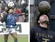 Balkunstenaar Touzani imiteert Maradona en dan gebeurt dit
