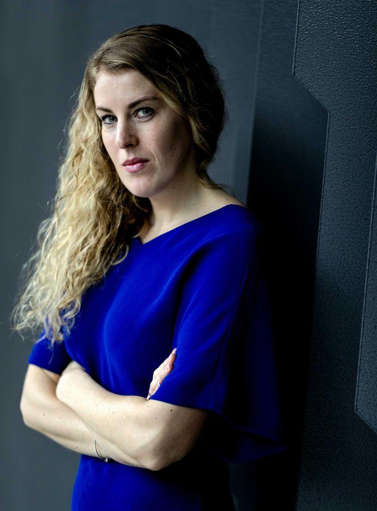 Vicky Maeijer, lid Europees parlement voor de PVV Beeld anp