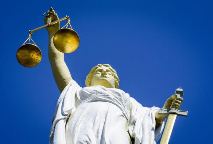 Vrouwe Justitia. Foto ter illustratie.