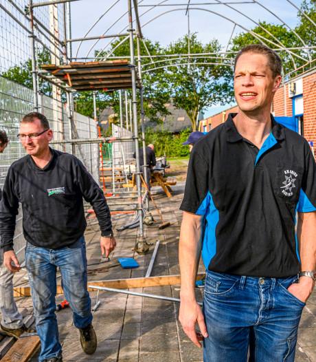 Orion Rucphen positief over toekomst met nieuwe verharde handbalvelden