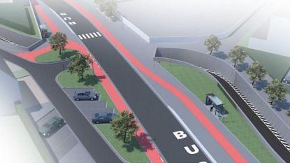 Werken fietstunnel Moorselbaan starten eind maart