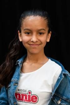 Rotterdamse Jismerai Kaya (11) krijgt hoofdrol in Annie de musical