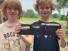 Doetinchemse jongens vinden portemonnee van Brabander tussen zwerfvuil