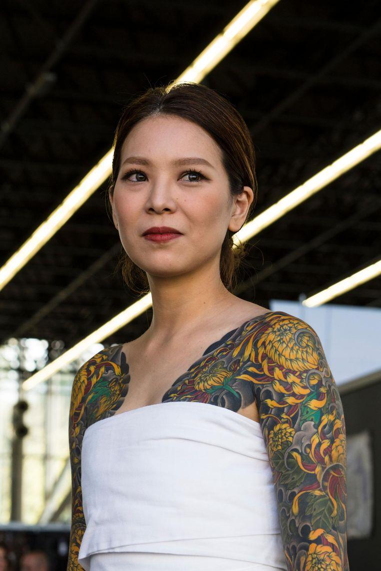 Ayano Hakamura. Beeld Carly Wollaert