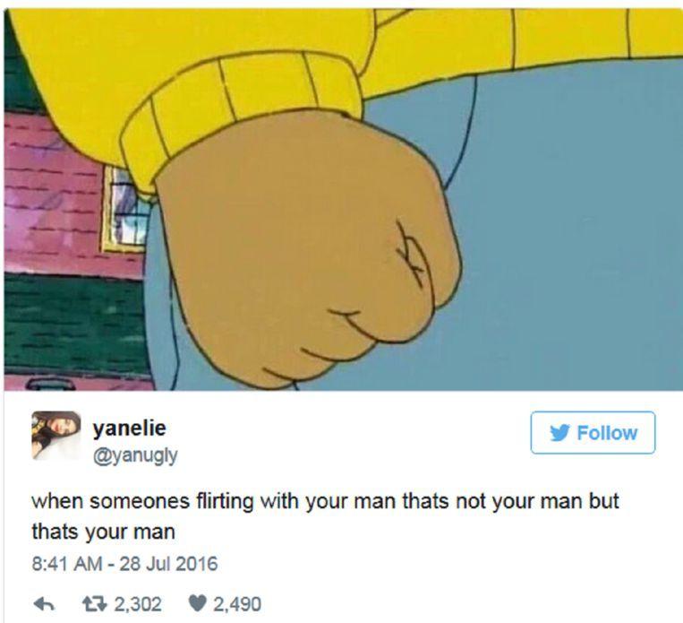 Flirten met je vriendje