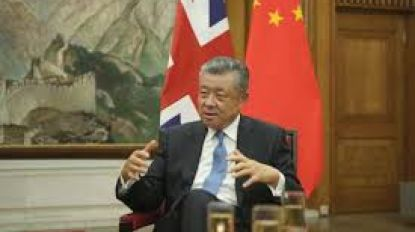 Chinese ambassadeur in Groot-Brittannië op het matje geroepen door uitspraak over Hongkong