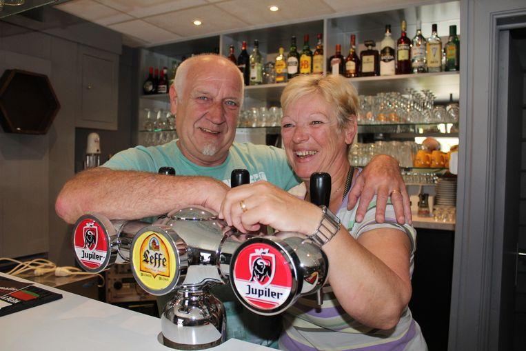 Rudy en Patricia zijn de nieuwe uitbaters van Ons Vermaak.