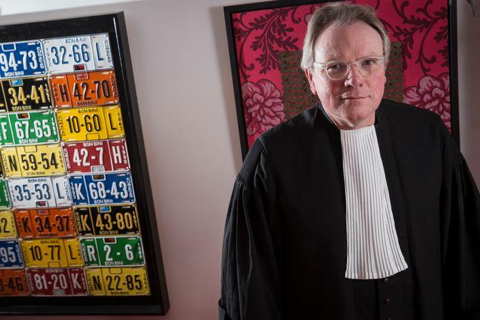 Archieffoto, advocaat Jan Vlug.