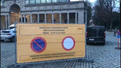 Overgangsperiode van twee weken voor illegale parking Jubelpark