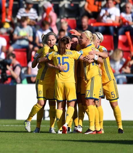 Oranje treft verliezende Zweden in kwartfinale