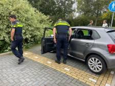 Auto rijdt door na ongeval in Bodegraven