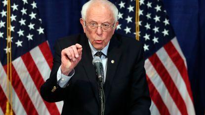 """Bernie Sanders laat zich niet kisten door tegenvallende voorverkiezingen: """"We winnen het ideologisch debat, maar verliezen strijd om verkiesbaarheid"""""""