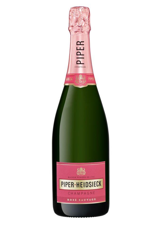 Champagne Rosé Sauvage, 40 euros, Piper Heidsieck.