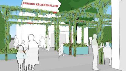 Stad wil doorsteek naar Keizershalparking opfleuren
