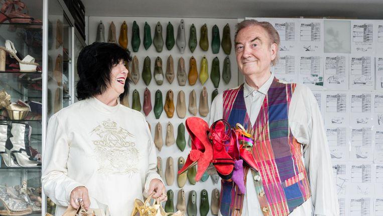 Jan Jansen en zijn vrouw Tonny, met wie hij sinds zijn zeventiende samen is. Beeld Charlotte Odijk