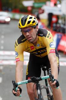 Dumoulin zegt klassement vaarwel in tweede etappe, Soler bekroont werk van Movistar