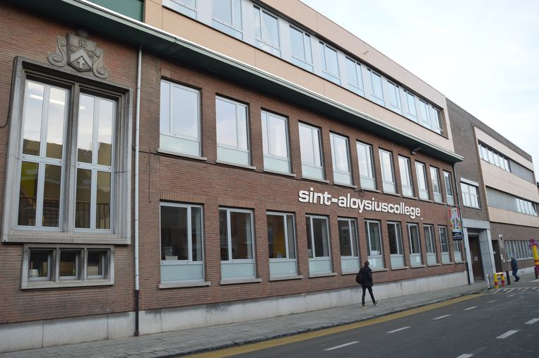 Het Sint-Aloysiuscollege in Ninove.