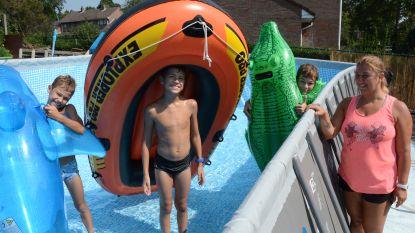 Hartverwarmend: vandalen sneden hun zwembad kapot, weldoener geeft hen een nieuw
