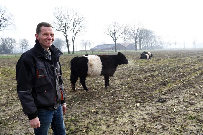 Erik Meijs, de boer die het dagelijks werk doet in dienst van de Herenboerencoöperatie Goedentijd.