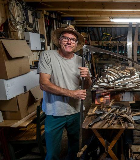 Oud gereedschap: 'Ieder stuk heeft een eigen verhaal'