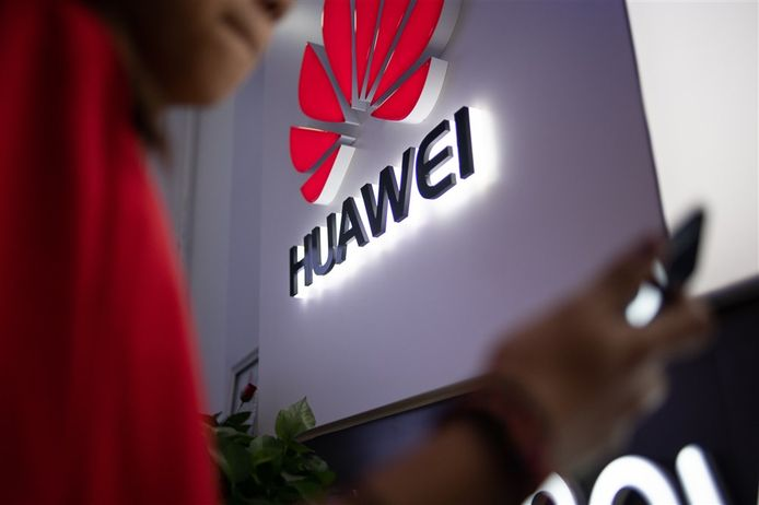Logo van Huawei.