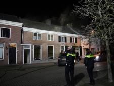 Bewoners schrikken wakker van rook bij woningbrand in Sprang-Capelle