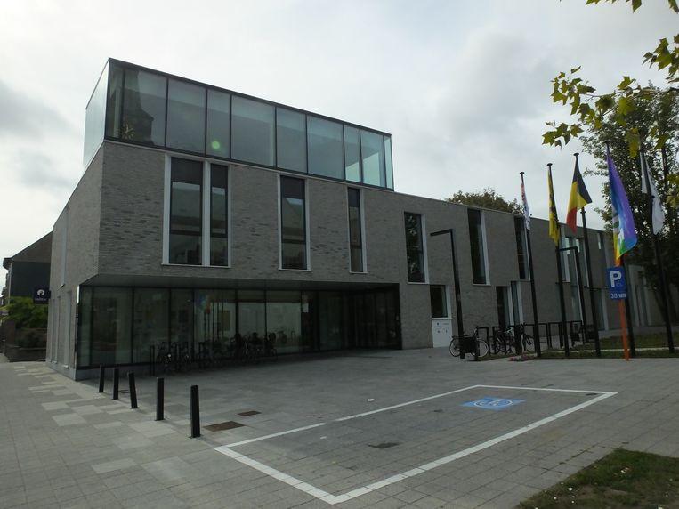 Het gemeentehuis van Zulte.