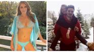 SHOWBITS. Een stralende Elizabeth Hurley in bikini en Belgische dj's op Tomorrowland Winter