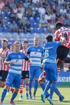 Saymak maakt rentree bij PEC Zwolle met gelijkspel tegen Sparta