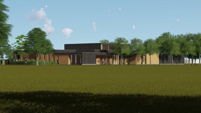 Zo zou het toekomstig crematorium in Lingewaard eruit kunnen gaan zien.