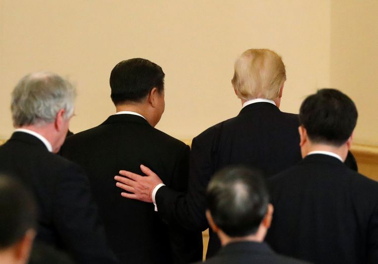 Beijing, november 2017. Beeld Foto Reuters