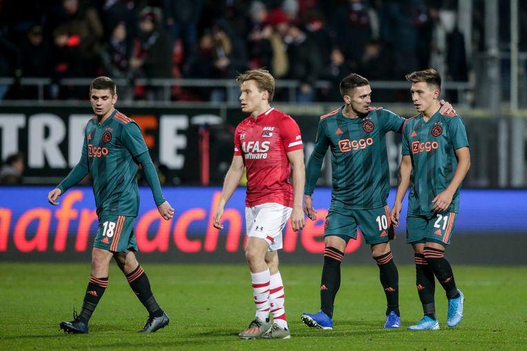 Dit weekend troffen Ajax en AZ elkaar nog in Alkmaar (waarbij AZ won). Beeld BSR Agency